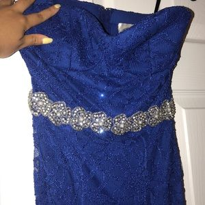 Deb Dresses - Brand new with tags blue lace dress!!